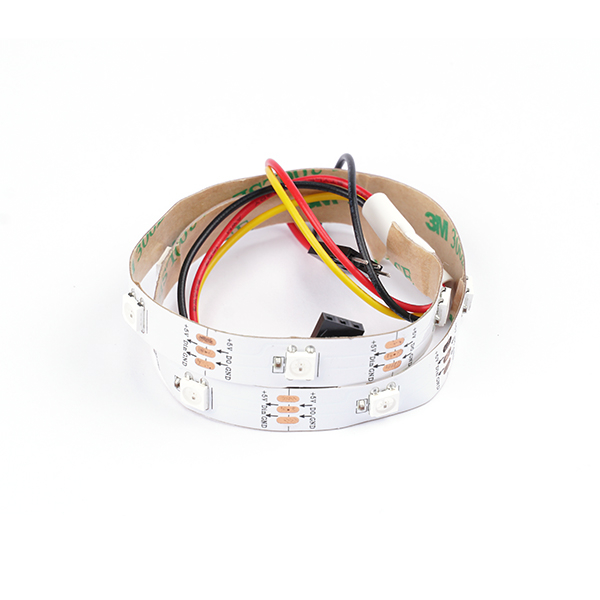 Neopixel Rainbow LED strip and GVS conector -10 LEDs