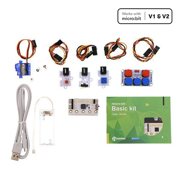 Basic kit :micro:bit sensors kit for beginner (without micro:bit board)