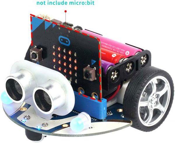 Smart Cutebot Kit : Smart Car Robot kit for micro:bit (without micro:bit board)