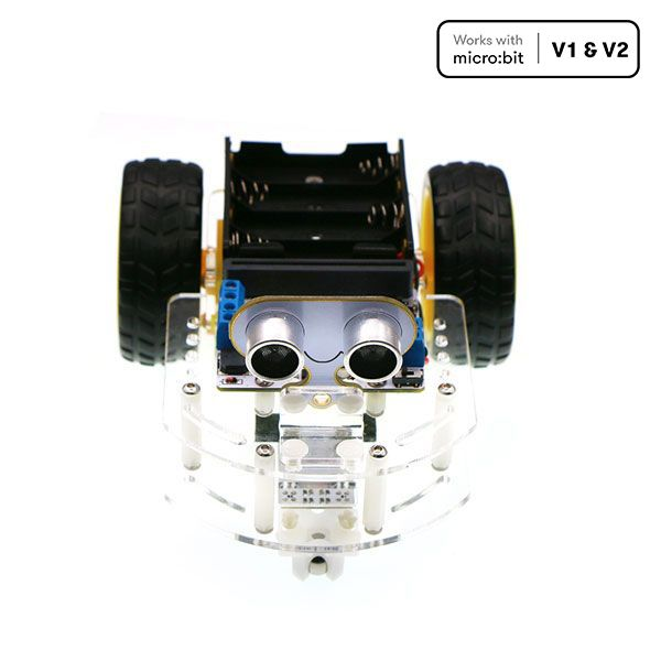 Motor:bit acrylic smart car kit