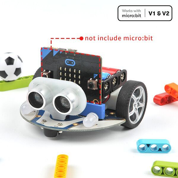 Smart Cutebot Kit : Smart Car Robot kit for micro:bit (without micro:bit board)