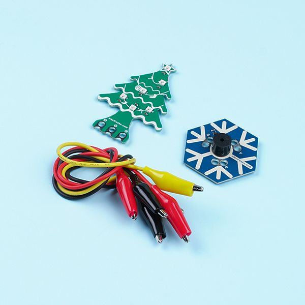Christmas kits for micro:bit  (Christmas Tree Rainbow LED and Snowflake Buzzer)