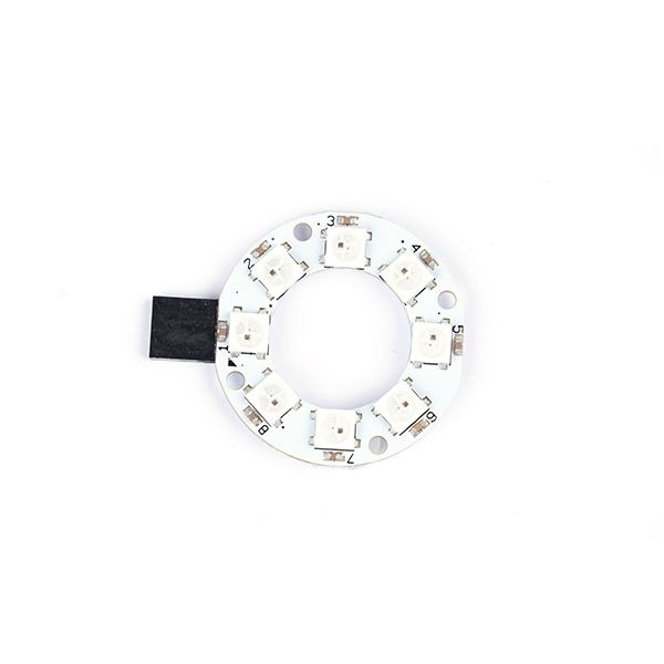 8 RGB Rainbow LED Ring