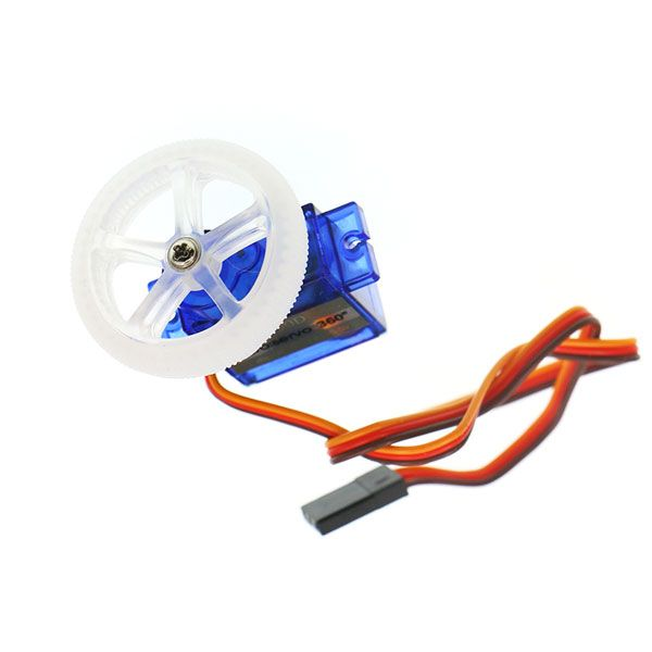 360 Digital Servo(EF90D) with wheel and tire
