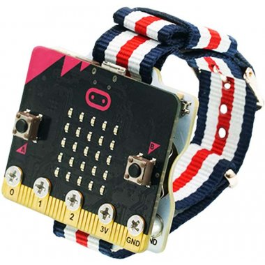 Smart Coding Kit : Wearable power supply extension kit for micro:bit(without micro:bit board)
