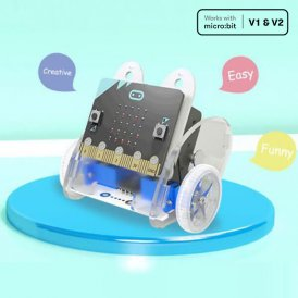Ring:bit Car v2 Kit :Smart DIY programming car for micro:bit (without micro:bit board)
