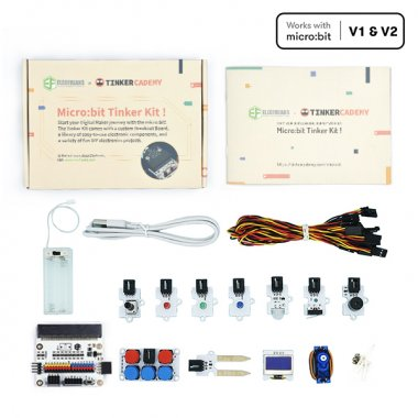 Micro:bit Tinker Kit (Without Micro:bit)