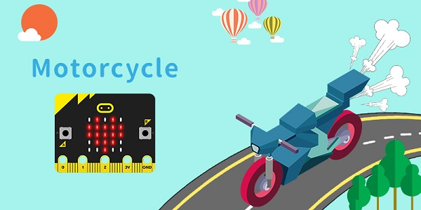 Motorcycle-MakeCode - Micro:bit