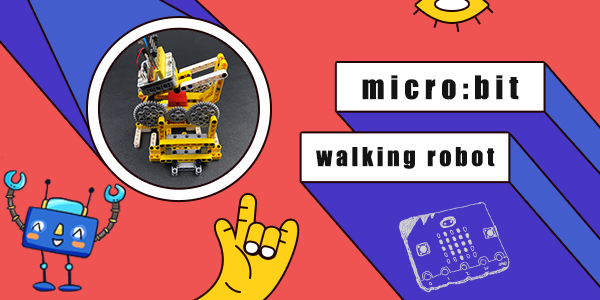 micro:bit Walking Robot