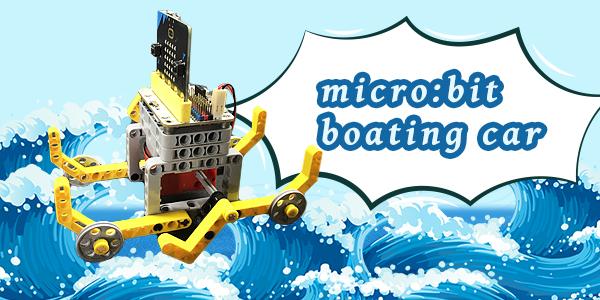 micro:bit Boating Car