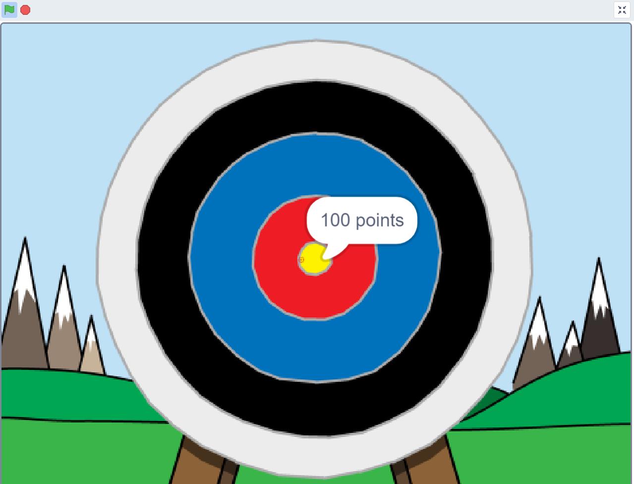 Shot the Bul eye