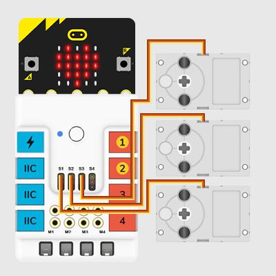 Micro:bit Simple Remote Gripper of Manipulator