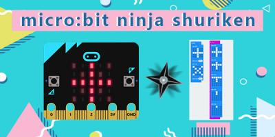 micro:bit Ninja Shuriken