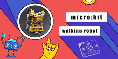 micro:bit Walking Robot