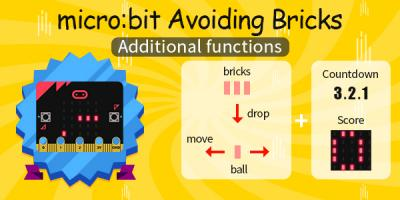 micro:bit Avoiding bricks---Additional functions