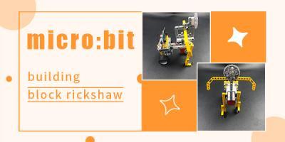 micro:bit Bricks Rickshaw