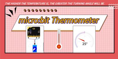 How to Make A Thermometer with micro:bit?