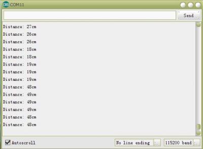 SDM-IO No Blind Area Ultrasonic module User guide