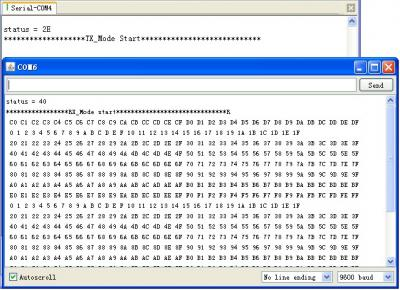 nRF24L01 Module Demo for Arduino
