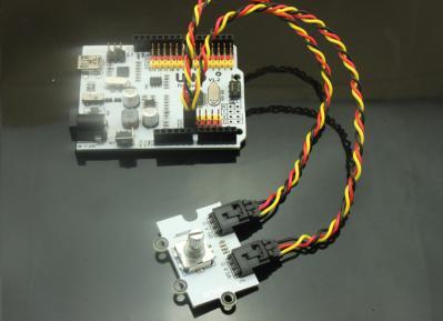 Octopus Brick Rotary Encoder and Smoke Sensor