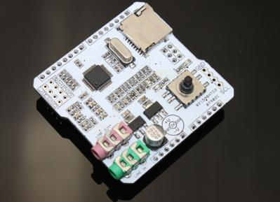 MP3 Music Shield - Dance With Your Arduino