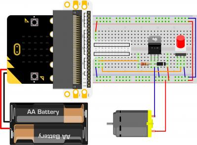 Micro:bit Experiment 10: Motor —???Elecfreaks Mirco: bit Starter Kit Course