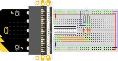Micro:bit Experiment 05: RGB LED —???Elecfreaks Mirco: bit Starter Kit Course