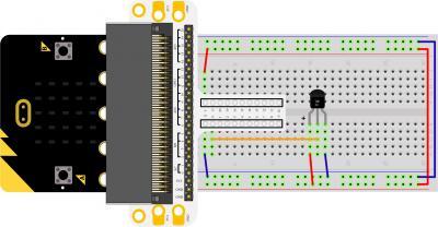 Micro:bit Experiment 07:Temperature Sensor —???Elecfreaks Mirco: bit Starter Kit Course