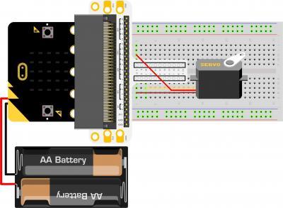 Micro:bit Experiment 08:Servo —???Elecfreaks Mirco: bit Starter Kit Course