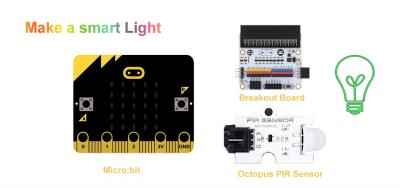 Use ElecFreaks Micro:bit Tinker Kit to Make A Smart Light