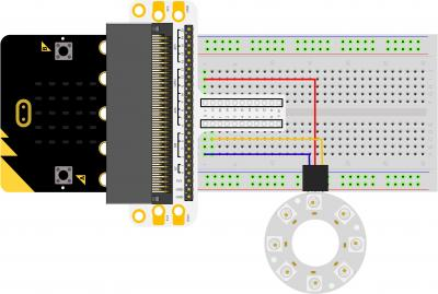 Micro:bit Experiment 11: Rainbow LED Ring —???Elecfreaks Mirco: bit Starter Kit Course