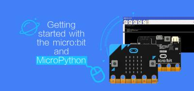 Getting started with the micro:bit and MicroPython