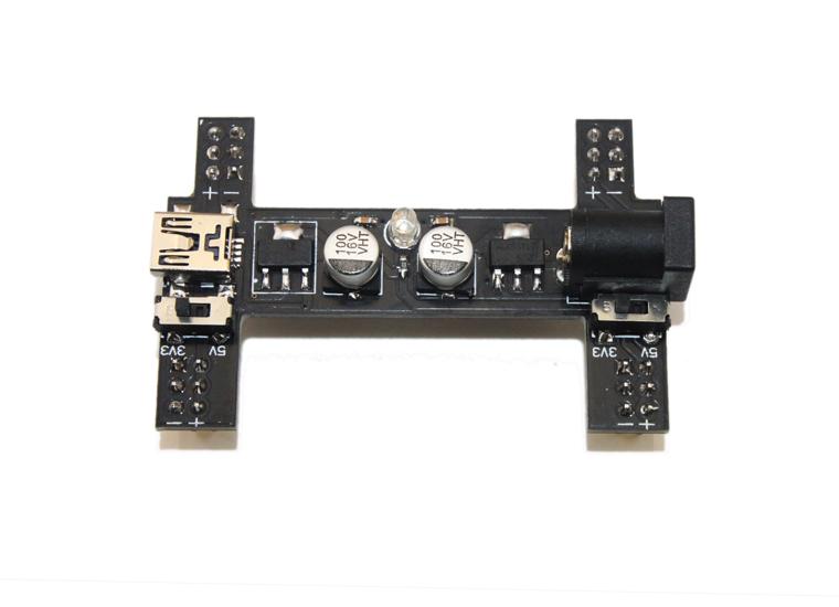 Black Wings (3.3v/5v Power Module Breadboard Adapter)