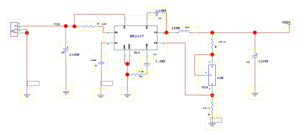 Build Adjustable DC-DC Converter on Flower Protoboard