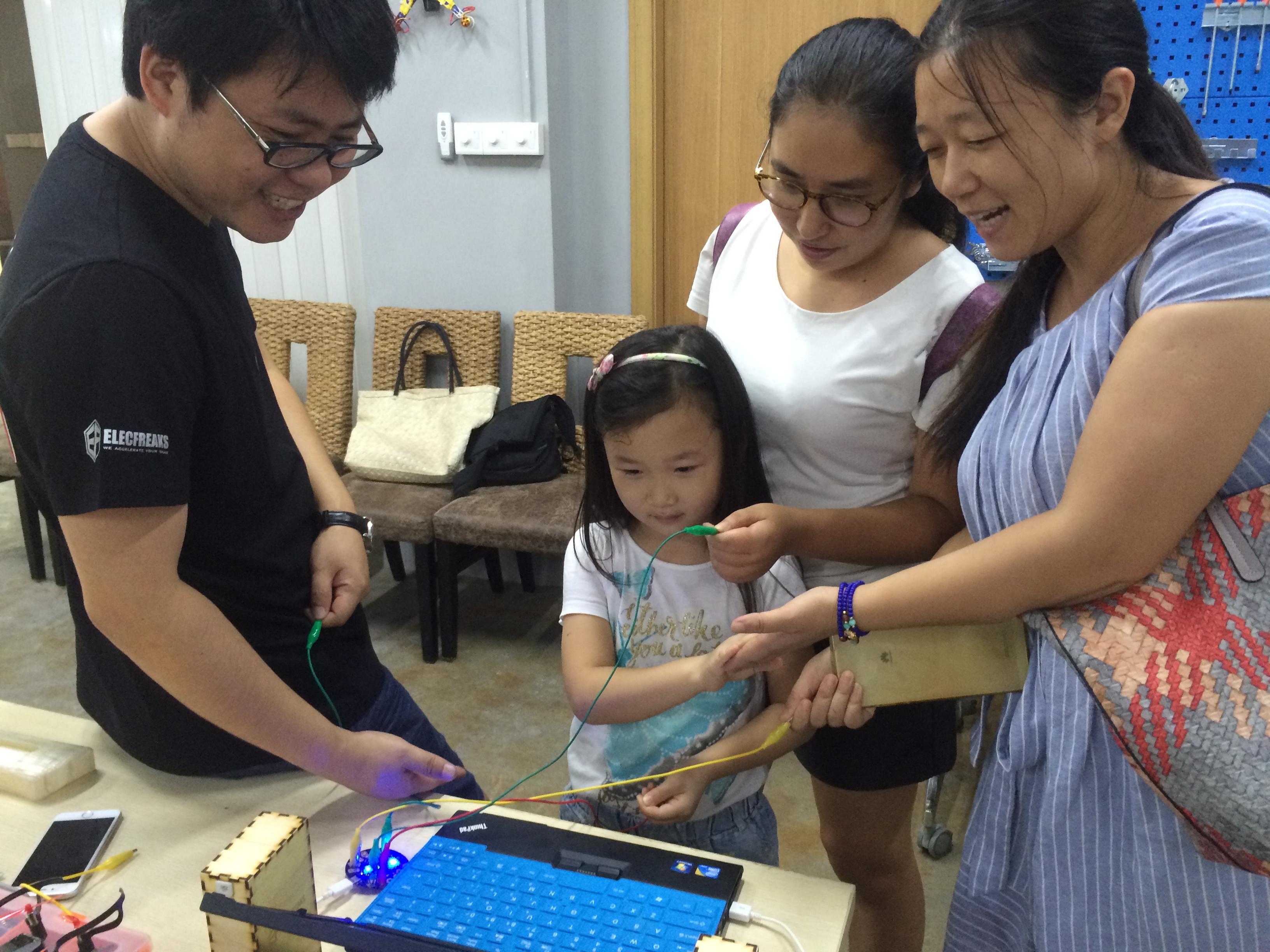 Open day at Maker Bar, Shenzhen