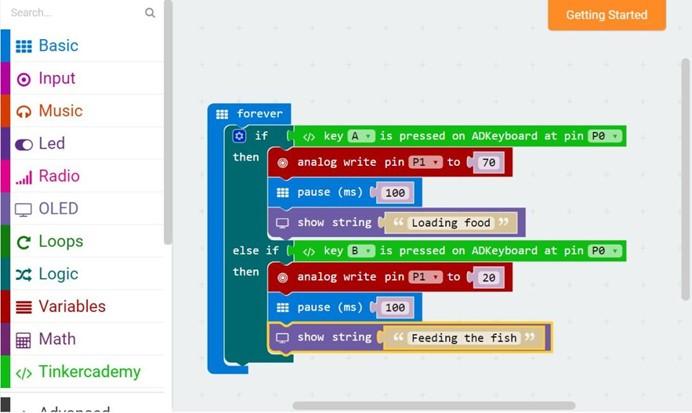 [ElecFreaks] Make a Fish Feeder by Micro:bit