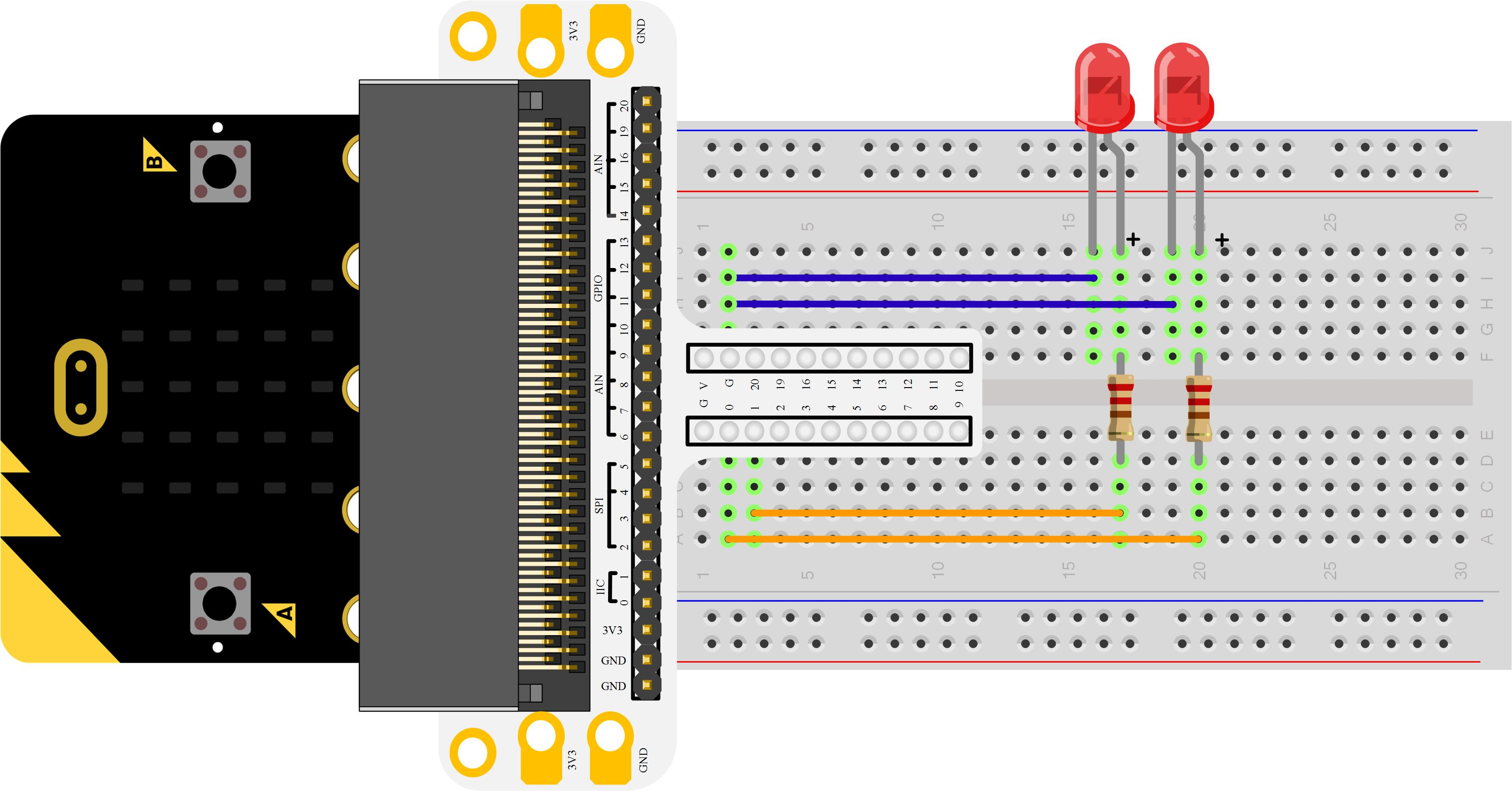 Micro:bit Experiment 01: LED Scroller —???Elecfreaks Micro:bit Starter Kit Course