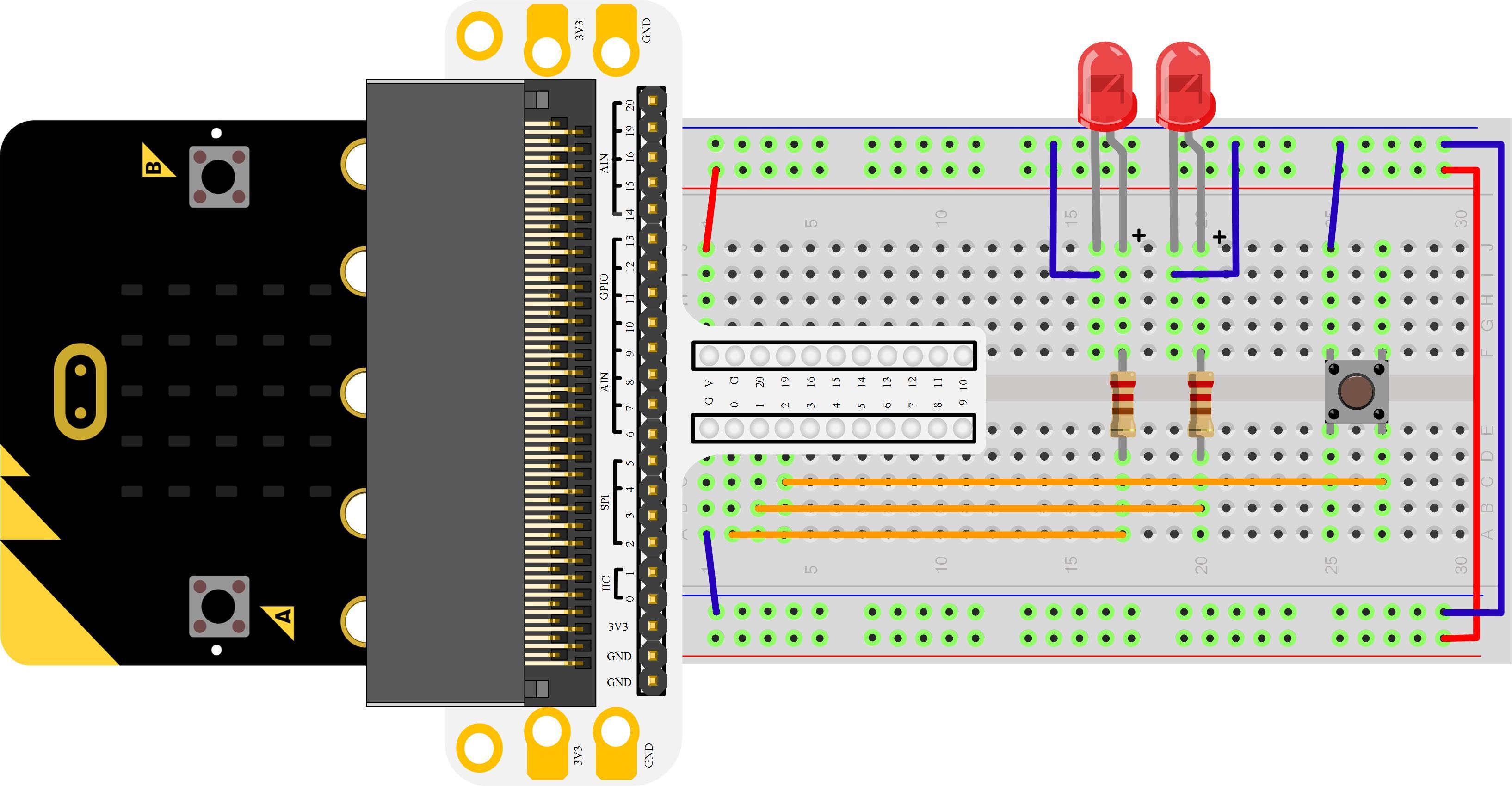Micro:bit Experiment 02: Button —Elecfreaks Mirco: bit Starter Kit Course