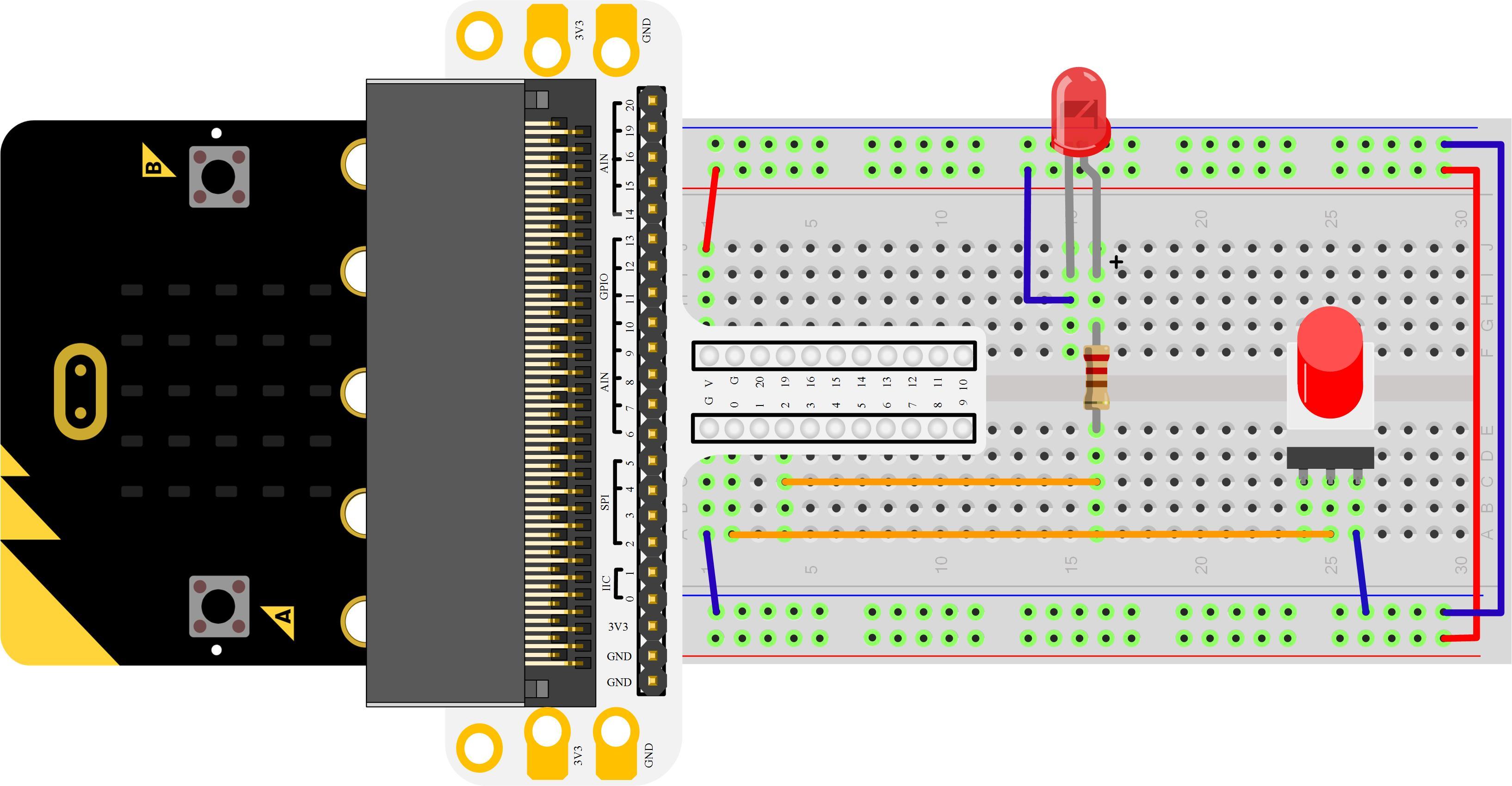 Micro:bit Experiment 06: Self-lock Switch —???Elecfreaks Mirco: bit Starter Kit Course