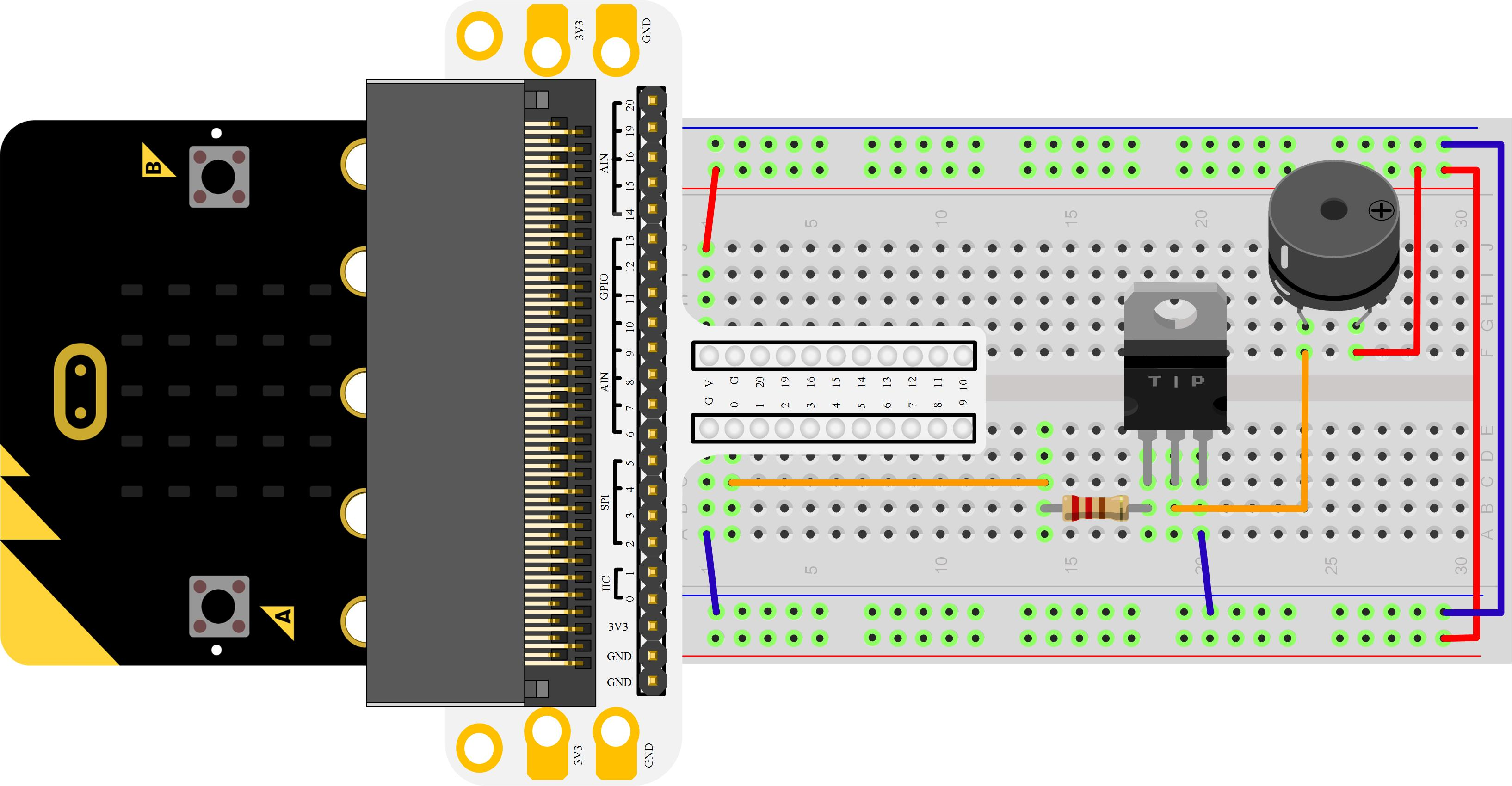 Micro:bit Experiment 09:Buzzer —???Elecfreaks Mirco: bit Starter Kit Course
