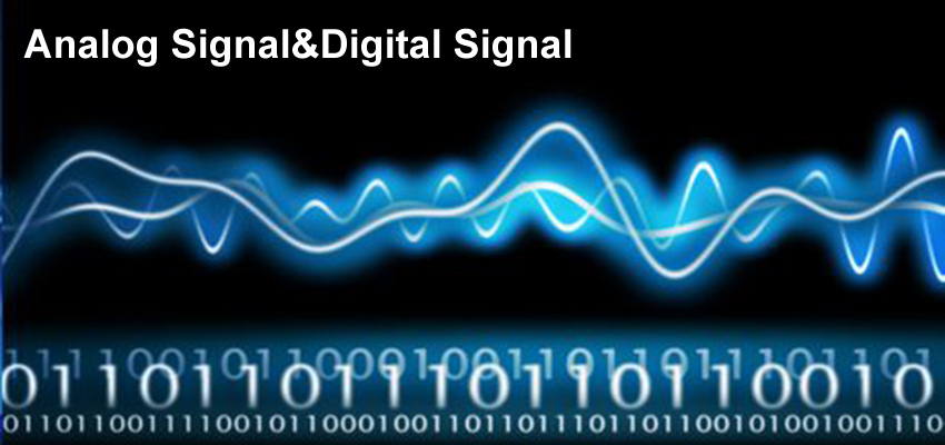 Difference between Analog Signal & Digital Signal