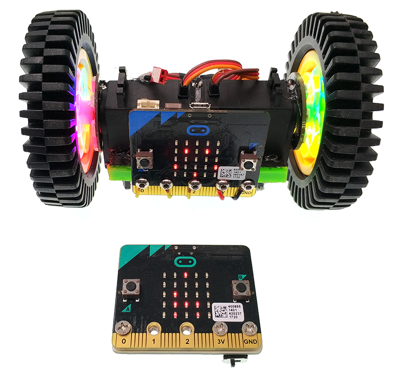 How To Make A Cool Dazzling Colorful Micro:bit Car
