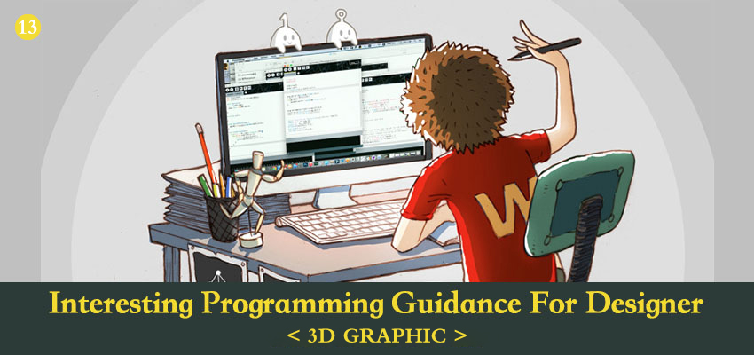 Interesting Processing Programming Guidance for Designer 11- 3D Graphic