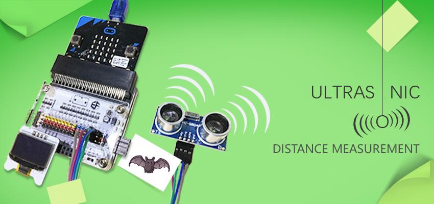 Make An Ultrasonic Distance Tester with Micro:bit