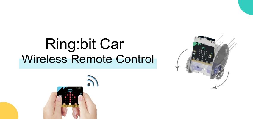 Ring:bit Car Study Case 03——Wireless Remote Control