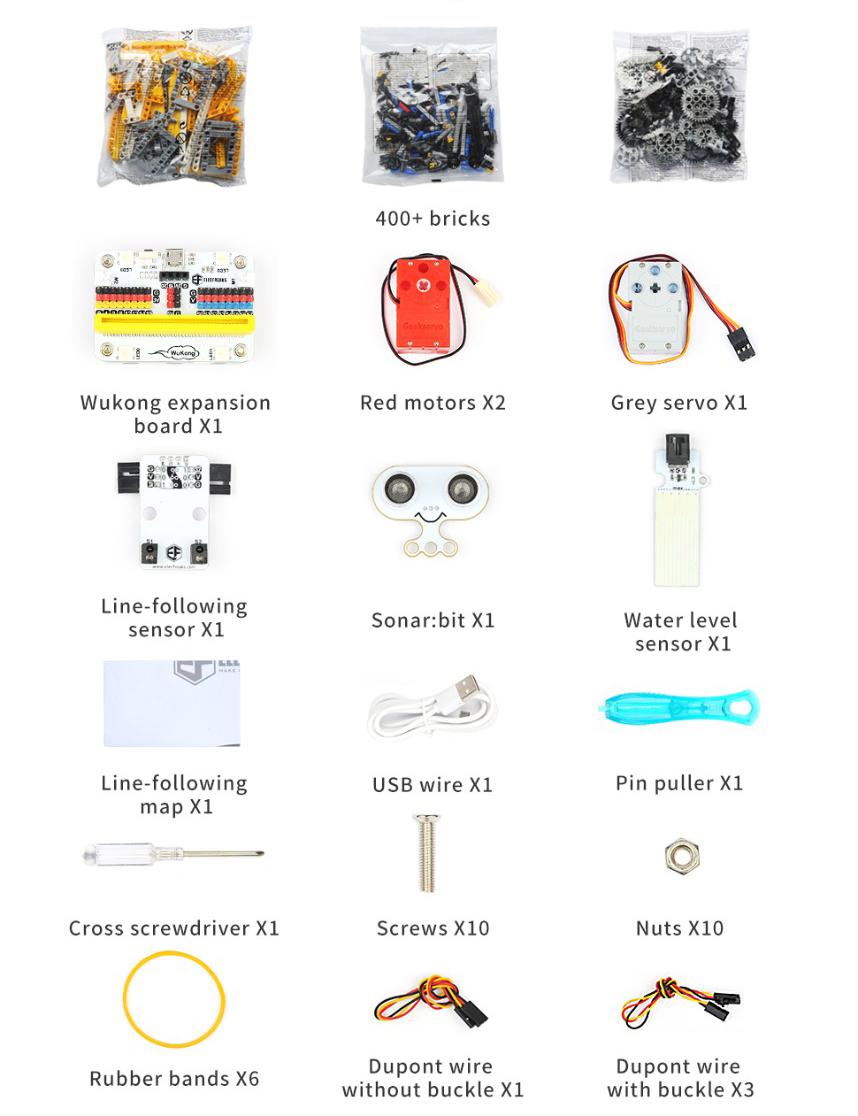 micro:bit Wonder Building Kit